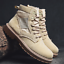 thumbnail 8 - Mens Fashion Riding Boots High Top Lace Up Round Toes Solid Autumn Ankle Booties