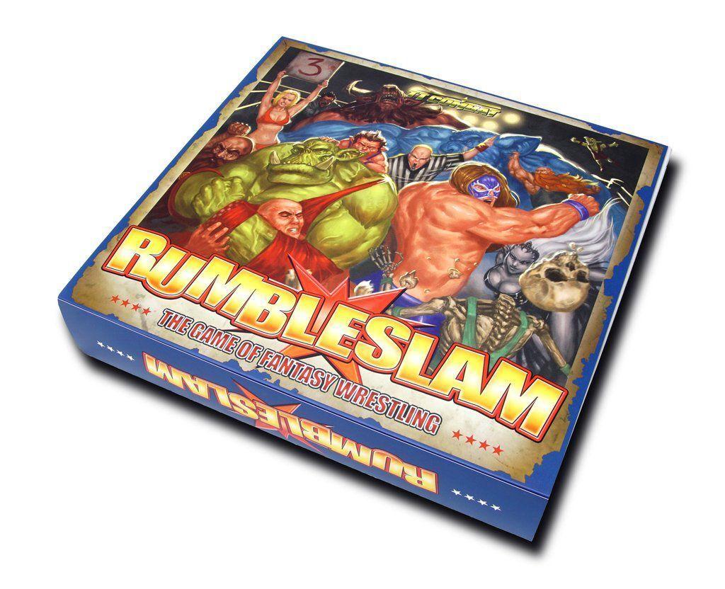 Rumbleslam Starter Box (English) Ttcombat RSB001 Fantasy Wrestling Ring Fight