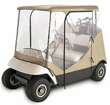 Golf Cart Rain Cover Enclosure for Club Car 2 Person Yamaha Precedent EZ GO