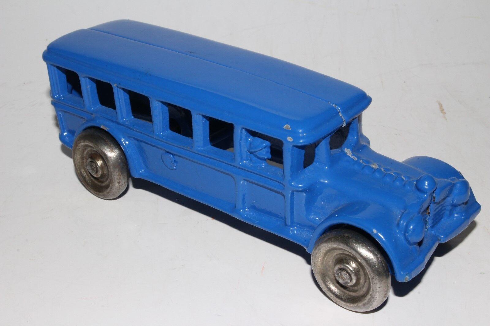 1920's Hubley Kenton Cast Iron Bus, Restorosso