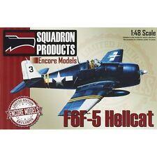 Encore Models EC48007 F6F-5 Hellcat 1/48 Model Airplane Kit Squadron Products