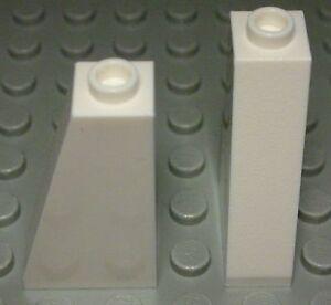 380 Lego Stein schräg 1x2 positiv Schwarz 6 Stück