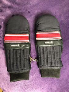 Grandoe Women's Vintage Mittens Gloves Winter Ski Size S Small