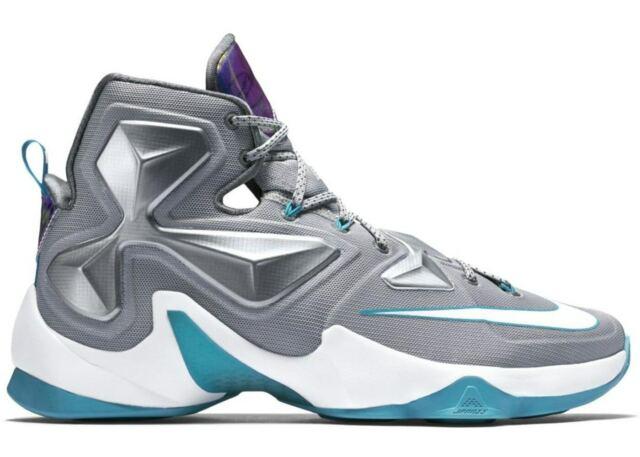 more photos caafd 9a723 Nike Lebron James XIII 13 Hologram Basketball Shoes 807219-014 Men's Size  10.5