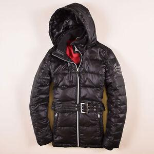 Details zu Soccx Damen Jacke Jacket Gr.36 Kurzmantel Schwarz, 58681