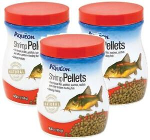 3-Pack-Aqueon-Shrimp-Sinking-Pellets-For-Bottom-Feeders-6-5-oz-Per-Bottle