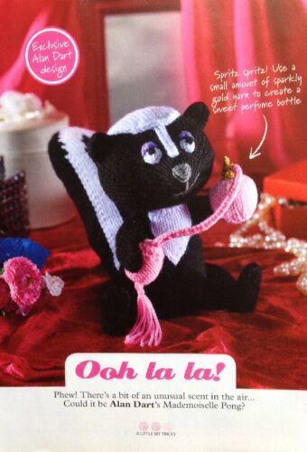 Alan Dart Knitting Pattern for Ooh La La Mademoiselle Pong
