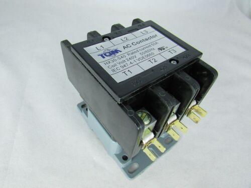 DEFINITE PURPOSE CONTACTOR 50 AMP 3 POLE 240V A//C UNITS HEAT PUMPS,REFRIGERAT.