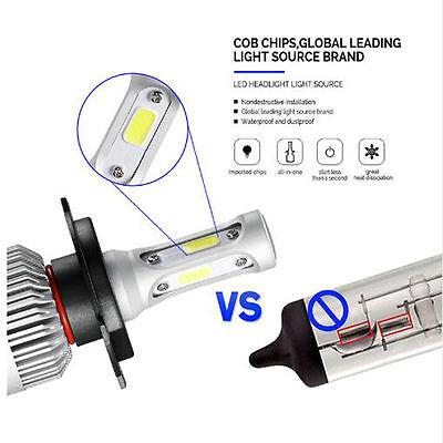2 x S2 H4 Hi/Lo Cree led Headlight Car Beam Auto Bulbs 12V