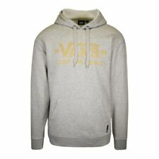 Vans Off The Wall Men's Heather Grey 1966 Stone Pattern Pullover Hoodie (S08)