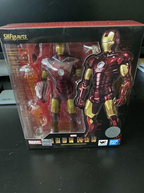 S.H.Figuarts Marvel IRON MAN MARK 3 III Action Figure BANDAI - US SELLER