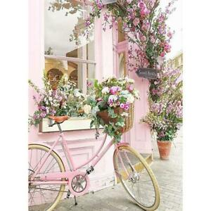 5D-DIY-Full-Drill-Diamond-Painting-Pink-Bicycle-Cross-Stitch-Embroidery-Kit