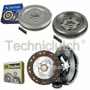 LUK 3 PART CLUTCH KIT AND SACHS DMF FOR VW CADDY BOX 1.9 TDI