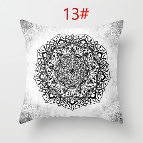 Pillow Cover Home Decor Cushion Cover Sofa Pillow Protector Mandala Pillow Case