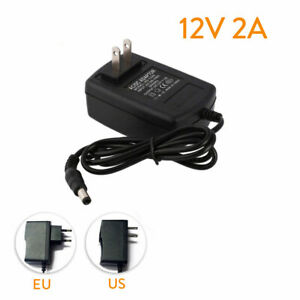 AC-DC-12V-2A-110-240V-Power-Supply-ADAPTER-CHARGER-For-3528-5050-LED-PLUGSwh-ST