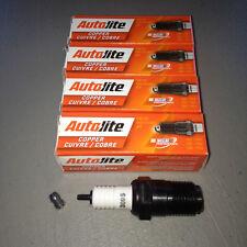 "FOUR(4) Autolite 3095 1/2"" Spark Plug SET fits Hit/Miss Maytag 92 Car/Truck/Farm"