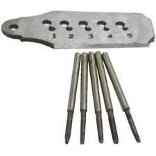 Tap & Die Set for Watch Repair Machinist Jewelers Tool Tools Dies 5Pcs