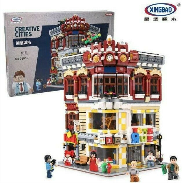 Xingbao 01006 Toys and Bookshop Building Block Set 5491 Pieces