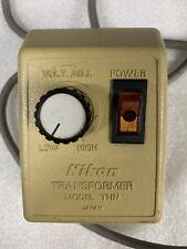 Nikon Thn Microscope Illuminator Power Supply Model Thn 3 7v