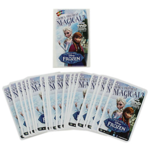 PARTY BAG FILLER MINI TOP TRUMPS CARD GAME NEW SEALED DISNEY FROZEN STOCKING