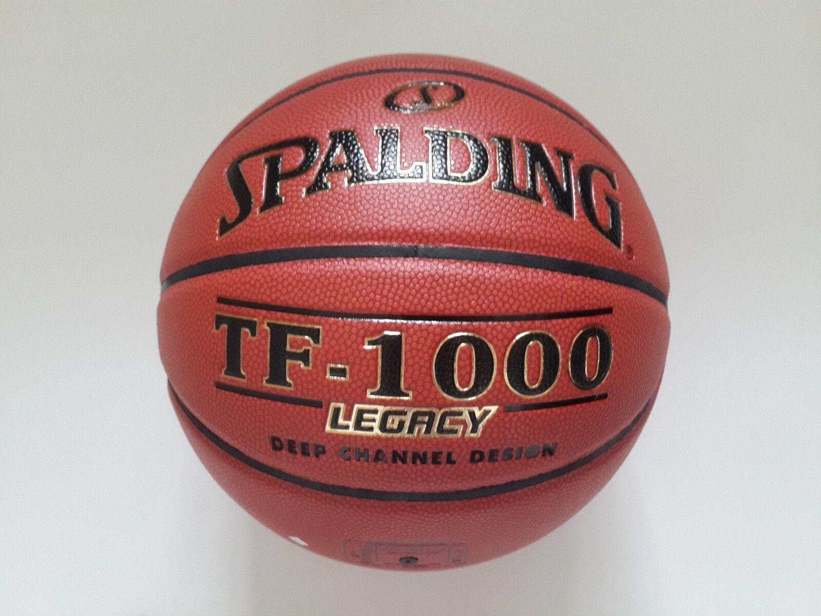 Spalding TF-1000 Legacy Basketball Ball FIBA 74-450Z Indoor Gameball Size 7