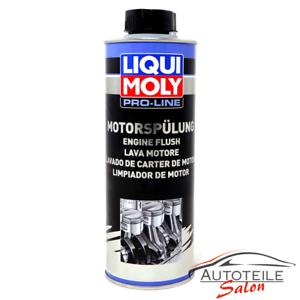 1x liqui moly pro line motorsp lung engine flush 500ml ebay. Black Bedroom Furniture Sets. Home Design Ideas