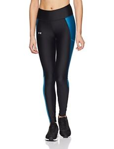 20cd89666891a1 Image is loading Under-Armour-Womens-Fly-by-Leggings-BlackBayou-Blue-