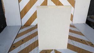 """CNC PRECISION CUT  CAST ACRYLIC PLEXIGLASS SLAB//SHEET CLEAR 1//2/""""  x 12/"""" x 24/"""""""