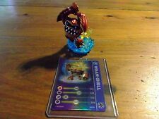 SKYLANDERS SWAP FORCE * WHAM-SHELL LIGHTCORE * WITH STAT CARD * USED * 5 DAY *