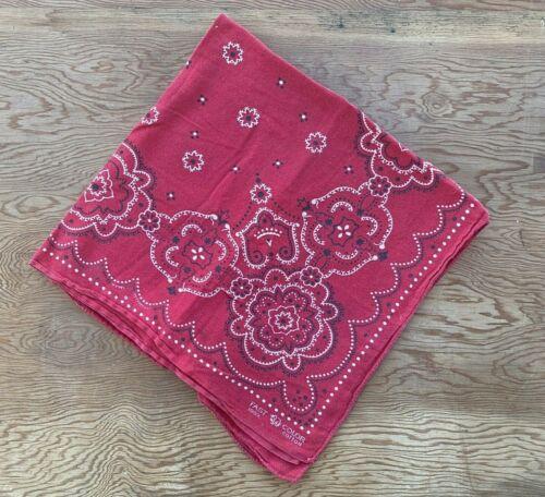 Vtg Bandana Fast Color Handkerchief Elephant Trunk