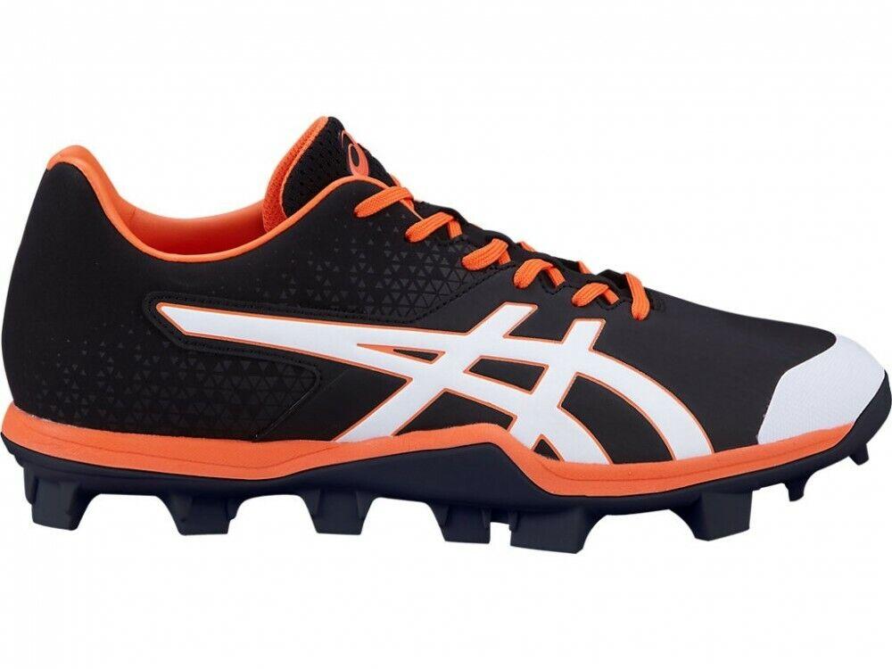 Zapatillas Asics De Béisbol Stud Spike Velocidad de Japón 1121A015 Negro blancoo
