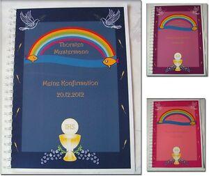 Festzeitung-Konfirmation-Konfirmationszeitung-Geschenk-Symbole-Taube-Regenbogen
