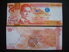 PHILIPPINES  20 Piso 2014  (P206)  UNC