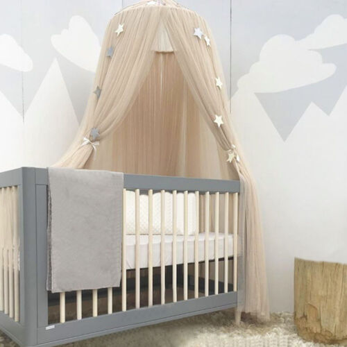 Dome Princess Bed Canopy Mosquito Net Child Play Tent Curtain for Baby Girl Room