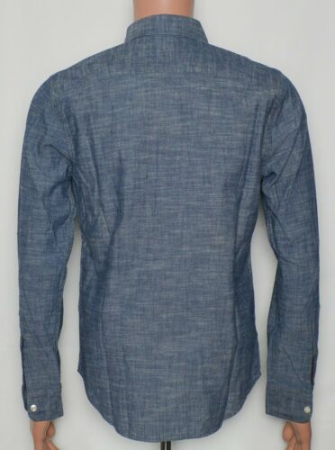 Levi/'s #9616 NEW Men/'s Size Small 100/% Cotton Long Sleeve Button Front Shirt