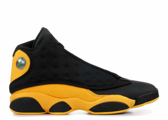 Nike Air Jordan XIII 13 Retro Class of 2002 Melo Black Yellow 414581-035