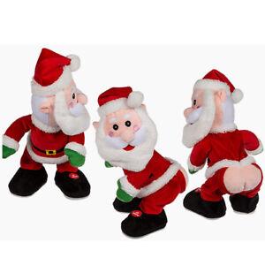 Babbo Natale Peluche.Peluche Babbo Natale Sexy Ballerino Con Movimento E Suono 28 Cm Ebay