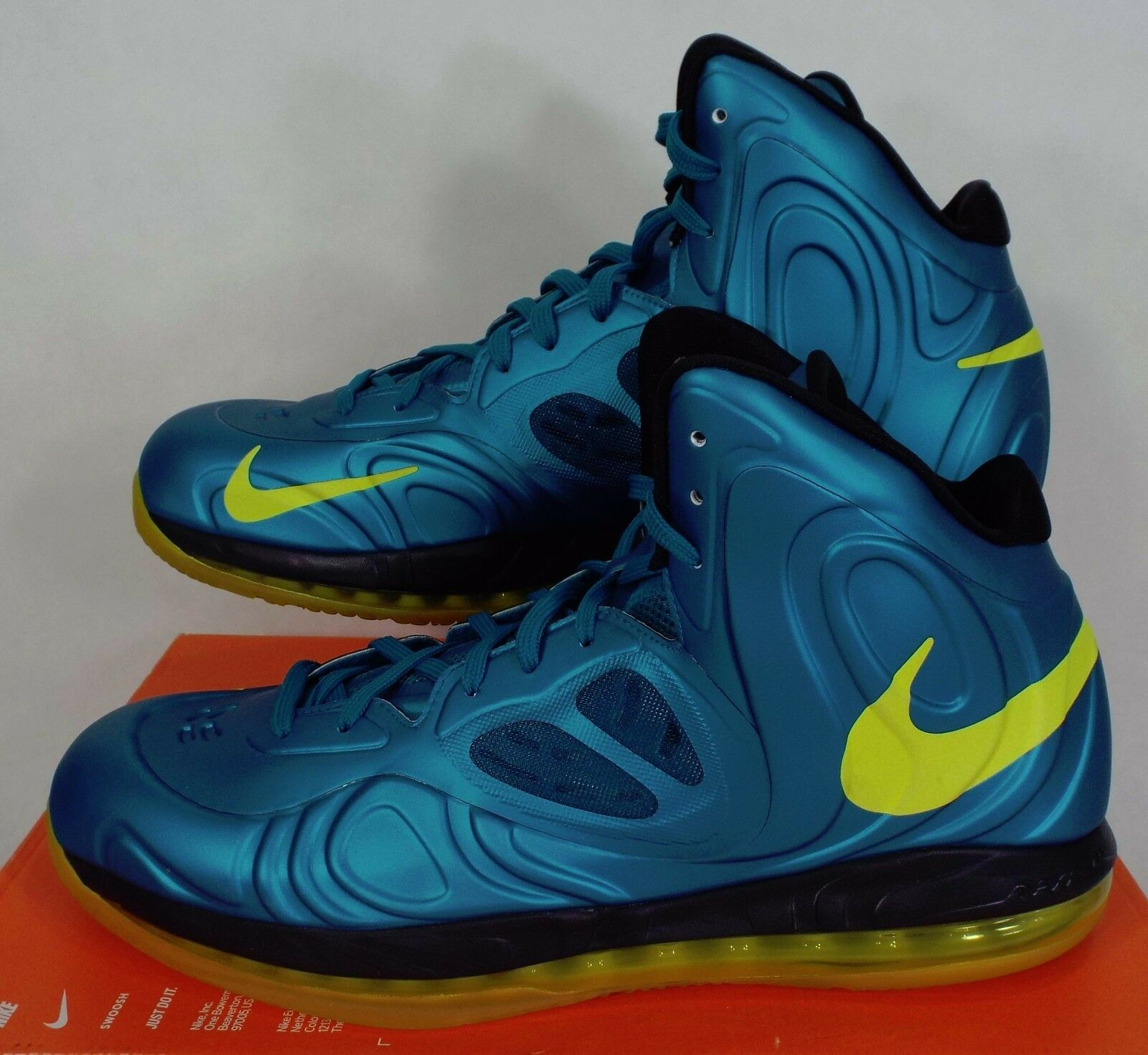 New homme 9.5 NIKE Air chaussures Max Hyperposite Tropical Teal chaussures Air 225 524862 303 023140