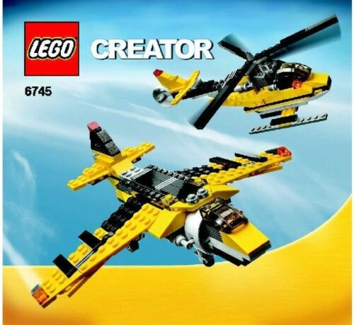 6745 LEGO INSTRUCTIONS! CREATOR