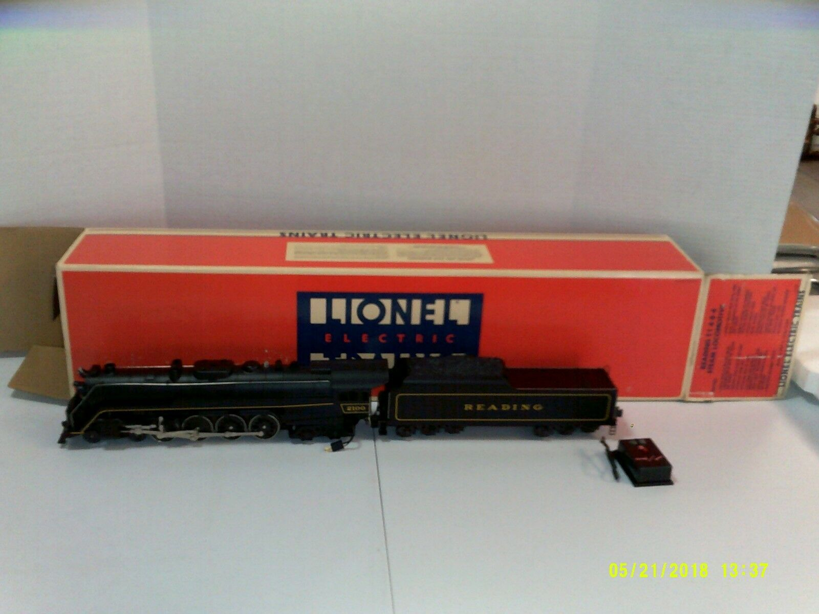 Lionel Reading T-1 4-8-4 Steam Locomotive