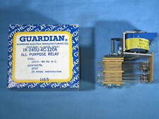 Guardian Electric IR-64OU-4C-120A 120V 60 Hz 4PDT .10 All Purpose Relay