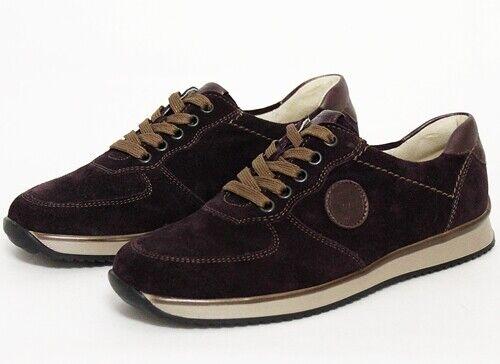 Sneaker Damen 37 Schuhe Leder 425003 Gr Lila Hayden Velour 279 326 Waldläufer B5qnax