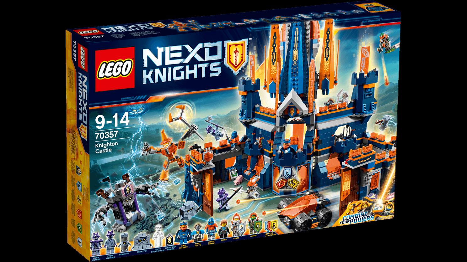 LEGO - Nexo Knight CASTILLO DE DE DE KNIGHTON - NUEVO 8272cb