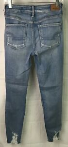 American-Eagle-Women-039-s-Hi-Rise-Super-Stretch-Jegging-Size-4-Long-x-30L