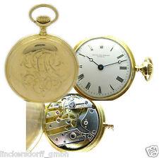 PATEK PHILIPPE GENEVE OHNE SEKUNDE TASCHENUHR 18KT GOLD ca. 33,5 mm von ca. 1893