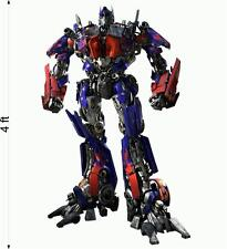 TRANSFORMERS 3 OPTIMUS PRIME Wall fathead Stickers Decal 4 Feet Tall Gift ideas