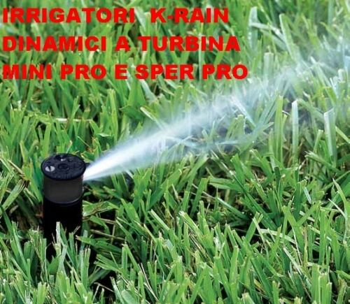 IRRIGATORE DINAMICO  INTERRO K-RAIN MINI PRO E SUPER PRO 270.1010101-270.1010250