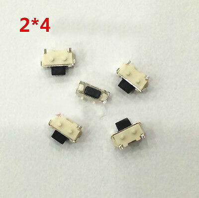 Lot 50 2x4x3.2mm Tact Tactile Push Button Switch SMD Surface Mount Momentary