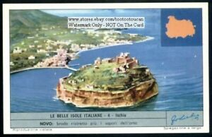 Island-Of-Ischia-Italy-Mediterranean-c50-Y-O-Trade-Ad-Card
