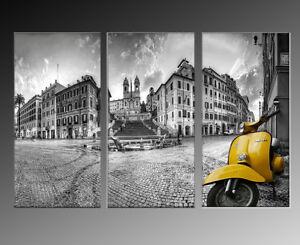 quadro-serigrafia-piazza-di-spagna-vespa-impression-prodotto-italiano-impresion